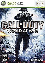 Call of Duty: World at War (Microsoft Xbox 360) Game Disc Only 100% Guaranteed