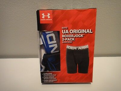 Under Armour Boy's Original Boxerjock 2-Pack Boxer brief Wicks Moisture