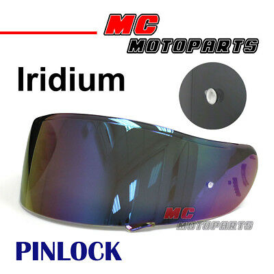 Fit Shoei Neotec GT-Air Pinlock Ready Visor Tinted Shield Helmet Visor Iridium