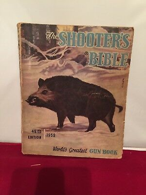 The Shooter's Bible 49th Edition 1958 used Vintage