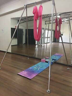 Aerial Hammock Yoga ,Pilates ,Fitness , Inversion Swing ,Yoga Hammock -pink
