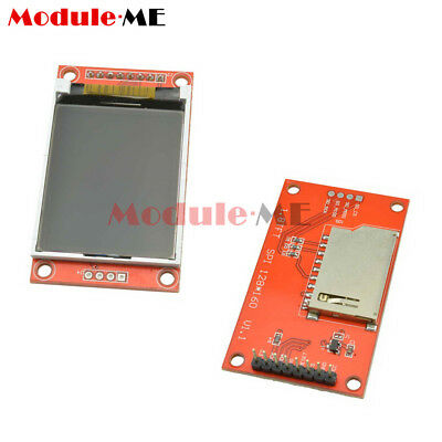 1.8 inch TFT SPI SD Card 128x160 LCD Display Module AVR PIC ARM STM32 ST7735