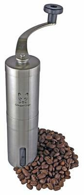 French Press Coffee Grinder by Cougar Chef - Manual Hand Crank Mill with...