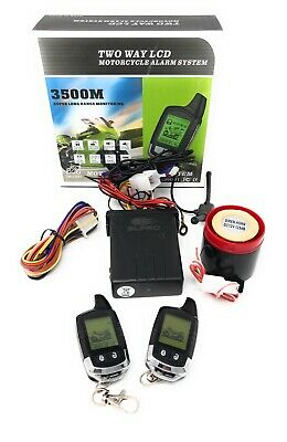 Pro 2-Wege Alarm up to 3500m for 12V Scooter, Motorcycle, Quad