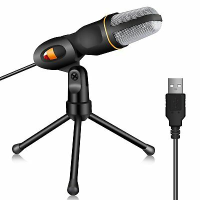 Tonor USB Pro Condenser Microphone Recording Broadcasting Podcast MIC with Stand
