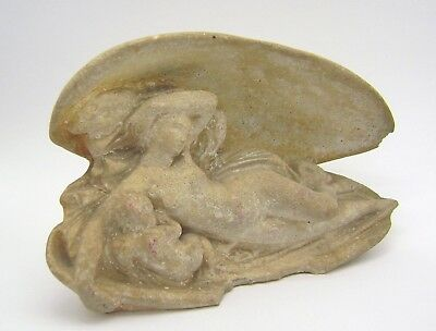 Greek Hellenistic Aphrodite with Eros Beautiful stone sculpture