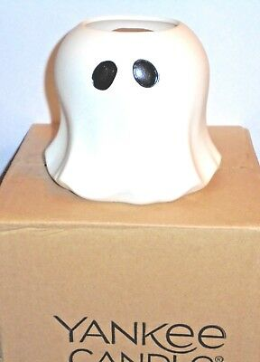 YANKEE CANDLE GHOST Tealight Holder - New in Box ~FREE