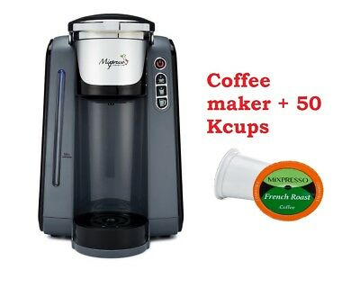Mixpresso Single Serve One Cup Automatic Coffee maker Keurig brewer + 50 KCup
