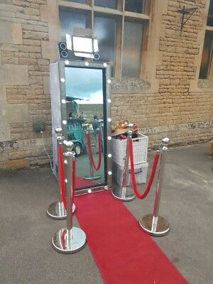 Magic Mirror Photo Booth Business For Sale Including 2 Magic Mirrors