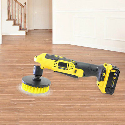 3-in-1 Electric Drill Brush Head for Home the floor /kitchen /dead corners NEW