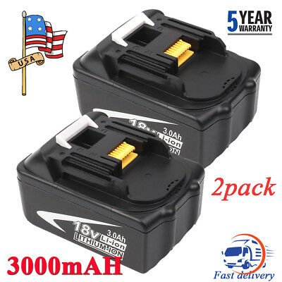 2X 3.0Ah 18V BL1830 For MAKITA LXT Lithium-Ion Battery BL1815 BL1840 BL1835 NEW!