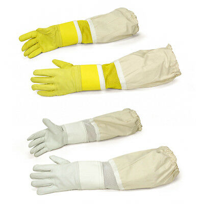 Beekeeping Bee Gloves Adult High Quality Durable Goat Leather Ventilated Gloves