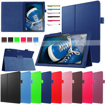 """For Lenovo 10 TB-X103F Tab 10.1"""" inch Tablet Case Smart Folio Flip Leather Cover"""