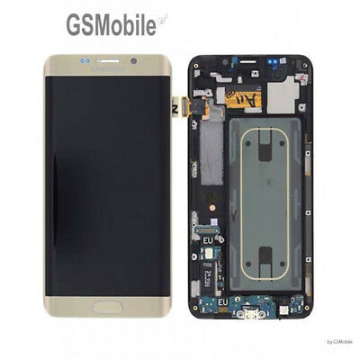 55ff053488f Display Pantalla LCD tactil Samsung Galaxy S6 Edge Plus G928F Gold Original