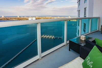 Spectacular Views from this 25th Floor waterfront overlooking the Atlantic Ocean