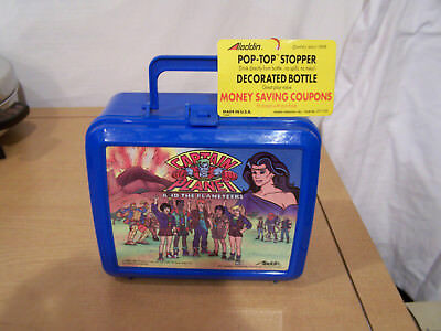 Vintage 1990 Captain Planet & the Planeteers Lunchbox Aladdin NEW with TAG Mint