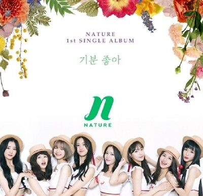 K-POP NATURE 1st Single Album CD + 36p Photobook + 2p Photocard Sealed