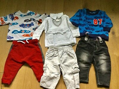 Baby Boy Clothes Bundle 3-6 Months Outfits Nutmeg Mamas&Papas