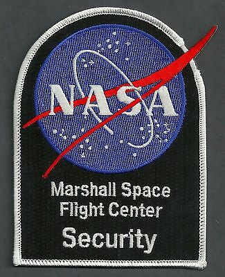 Nasa Marshall Space Center Alabama Security Police Patch