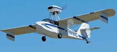 Plans For Homebuild Two Seat Wood / Plywood Amphibious Aircraft