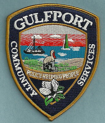 Gulfport Mississippi Public Safety Police Patch
