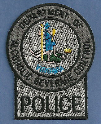 Virginia Alcoholic Beverage Control Police Patch