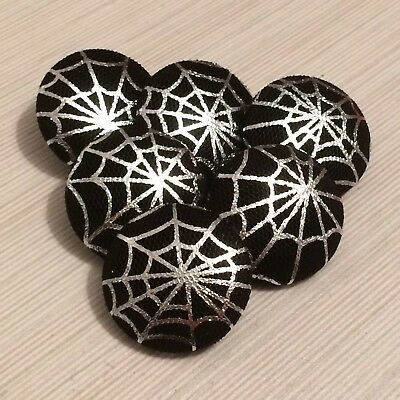 Halloween, Gothic, Fabric Buttons, 25mm, 31mm, Large & Extra Large