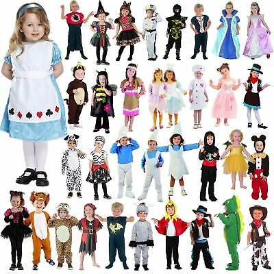 Unisex Girls/Boys Toddler Infant Fancy Dress Book Week Party Costumes Age 3-4 Y