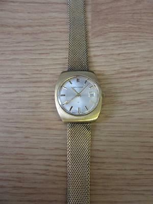 Vintage Waltham 17Jewel Gold Tone Swiss Date Watch
