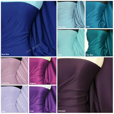 Plain Scuba Fabric Stretch Jersey Bodycon Spandex Lyrca Material RM792
