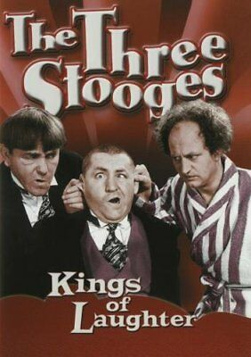 The Three Stooges: Kings of Laughter DVD Brand New & Sealed-Fast Ship! /OVA-043B
