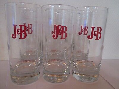 "Lot De 6 Verres  A Scotch Whisky "" J & B "" Neuf"