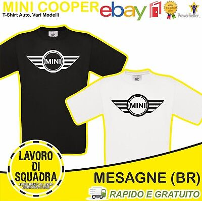 T-Shirt - MINI COOPER - COUNTRYMAN PACEMAN CLUBMAN ONE CABRIO COUPE Idea Regalo