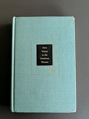 NEW VOICES IN THE AMERICAN THEATRE Williams Miller Inge Axlerod Anderson Wouk HC