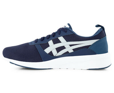 Asics Tiger Mens Lyte Jogger Trainers Navy