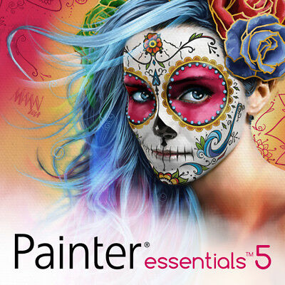 Corel Painter Essentials 5  Digital Download New License Fast Shipping
