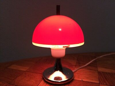 Lampe 1:12  orange Bodo Hennig 60/70er Puppenstube Puppenhaus dollhouse lamp