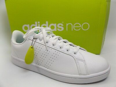 d1268e2c32e4 Adidas Neo CF Advantage CL CloudFoam White Men Shoes Sneakers SZ 13.0 M NEW  7581