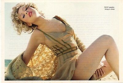 Christina Aguilera 1/2 Page Magazine Picture Clipping