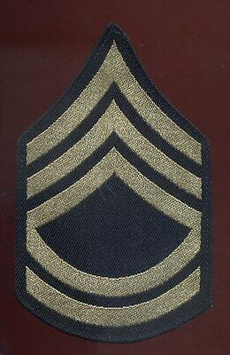 WWII US Army Technical Sergeant Rank Patch Rayon