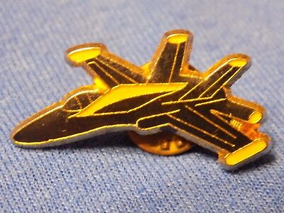 F-18 Hornet  Blue Angels US Navy Jet Aircraft Lapel Pin