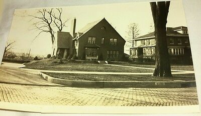 Vintage Old 1930's American Architecture Brick House Home STERLING ILLINOIS Name