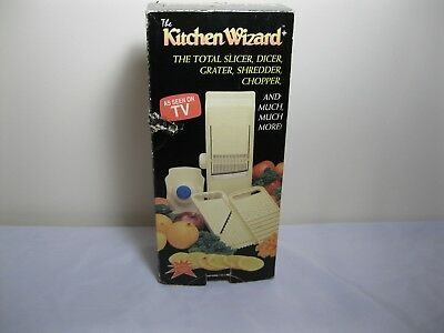 Kitchen Wizard As Seen On Tv Slicer Grater Chopper Never Used