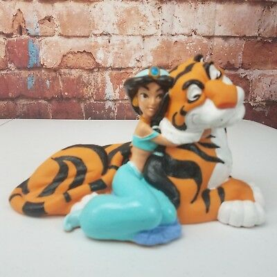 Disney Aladdin Jasmine and Rajah Coin Bank