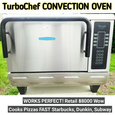 TURBOCHEF TORNADO CONVECTION OVEN  NGCD6 Brick COMMERCIAL MICROWAVE Turbo Chef