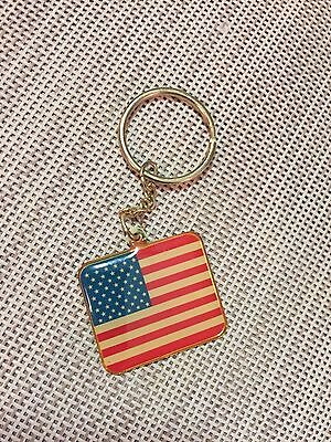 Red White And Blue American Flag Key Chain, Veterans Of Foreign Wars