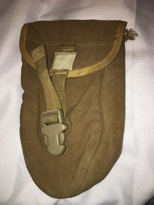 USGI Military Molle E-Tool Entrenching Carrier Pouch Coyote