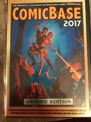 ComicBase 2017 3-DVD Set [Archive Edition] in seal never opened brand new