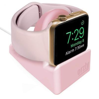 Orzly® Night-Stand for Apple Watch 38mm & 42mm Holder Stand Cradle - PINK