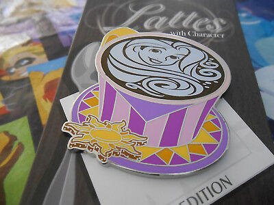 Disney Pin of the Month Lattes with Character Rapunzel LE 3000 Tangled Latte's